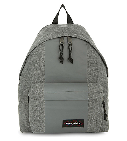 EASTPAK Padded Pak'r backpack (Grey+rubber