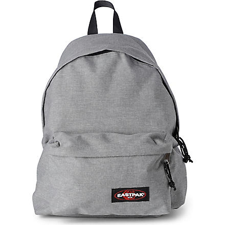 EASTPAK Padded Pak'r glossy backpack (Sunday+grey