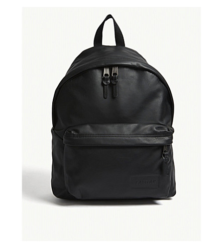 Pak EASTPAK r EASTPAK Padded Padded leather ink leather backpack Black f5Itqw