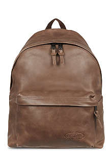 EASTPAK Leather Padded Pak'r backpack