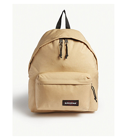 EASTPAK Padded Pak'r Brimblock nylon backpack (Base+beige