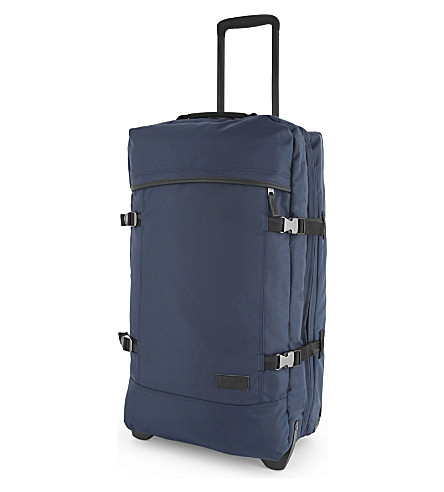 EASTPAK Authentic Tranverz medium two-wheel suitcase 67cm (Constructed+navy