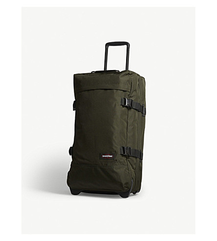 EASTPAK Tranverz two-wheel suitcase 67cm (Bush+khaki
