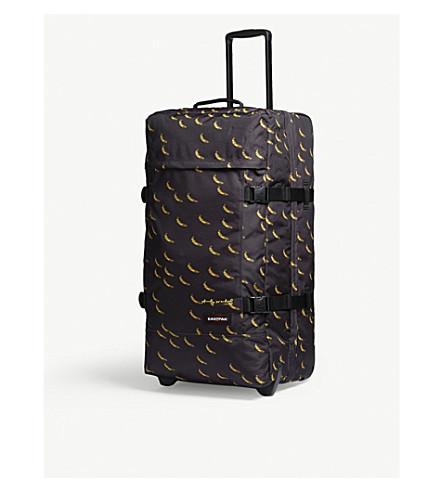 EASTPAK Tranverz two-wheel suitcase 78cm (Aw+banana