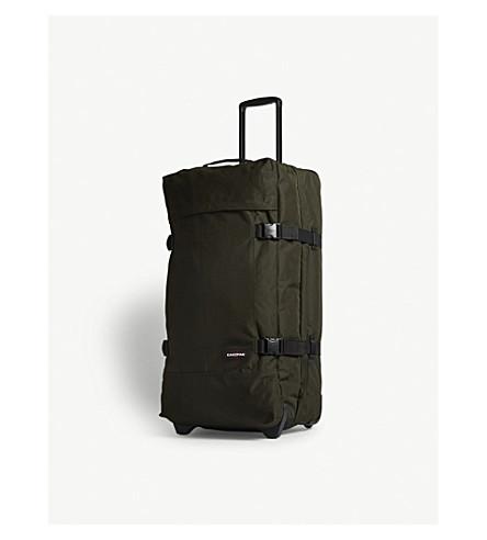 EASTPAK Tranverz two-wheel suitcase 78cm (Bush+khaki
