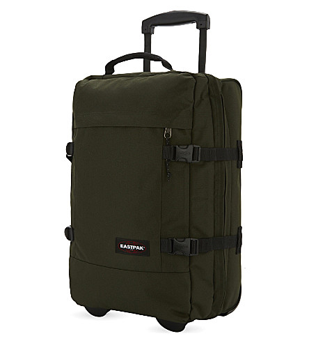 EASTPAK Tranverz small two-wheel suitcase 51cm (Army+socks