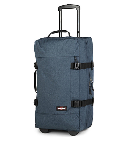 EASTPAK Transfer medium two-wheel suitcase 66cm (Double+denim