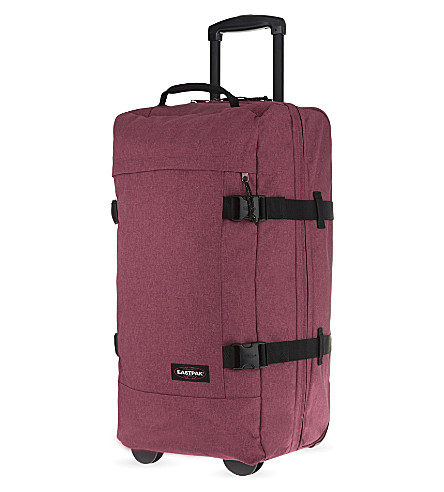 EASTPAK Tranverz medium two-wheel suitcase 66cm (Crafty+merlot