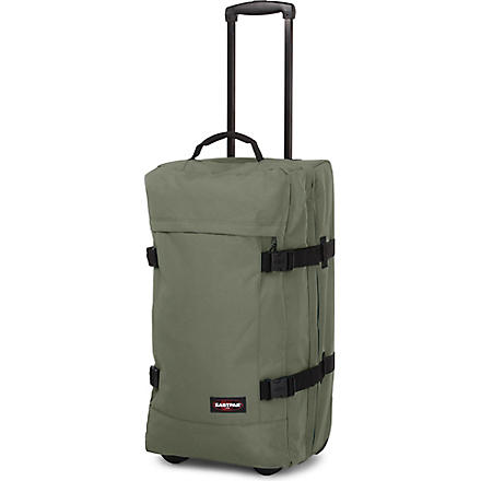 EASTPAK Transfer medium two-wheel suitcase 66cm (Olive or die