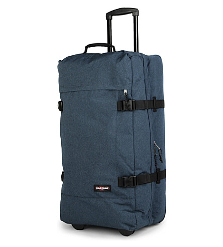 EASTPAK Transfer large two-wheel suitcase 77cm (Double+denim