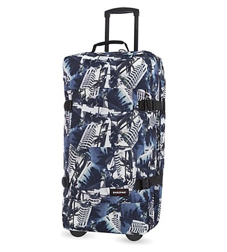 EASTPAK Tranverz large two-wheel suitcase 79cm (80's+chic