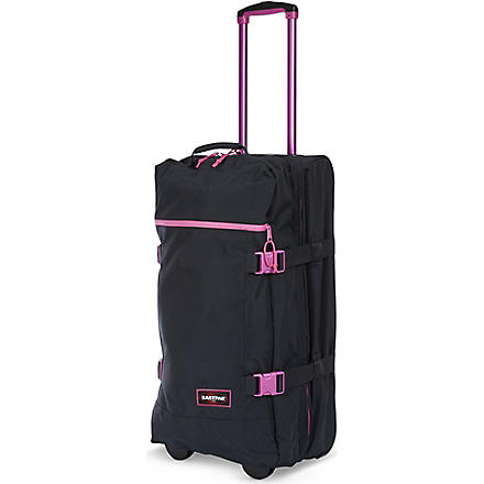 EASTPAK Transfer large two-wheel suitcase 77cm (Blackout+pink