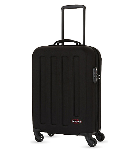 EASTPAK Tranzshell small four-wheel cabin suitcase 54cm (Black