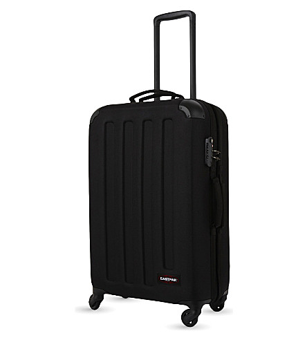 EASTPAK Tranzshell medium four-wheel suitcase 67cm (Black