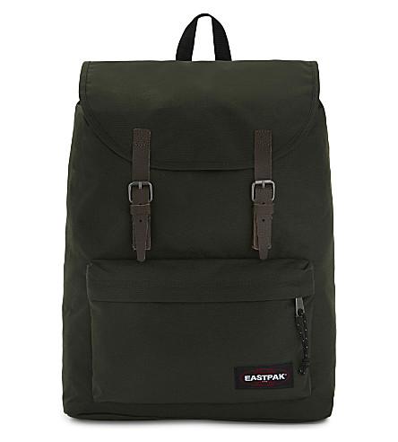EASTPAK London canvas backpack (Army+socks