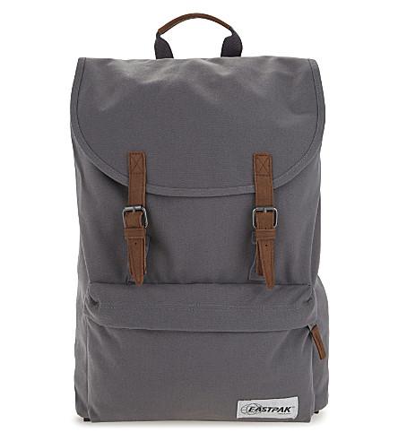 EASTPAK London canvas backpack (Opgrade mist