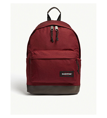 EASTPAK Wyoming New Era backpack (Brave+burgundy