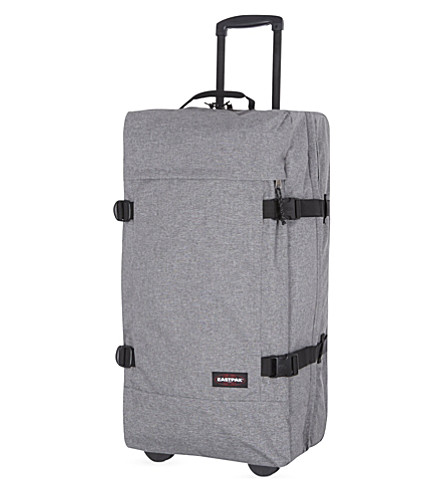 EASTPAK Tranverz four-wheel suitcase 75cm (Sunday+grey
