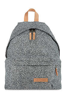 EASTPAK Aminimal cheetah print padded backpack