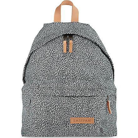 EASTPAK Aminimal cheetah print padded backpack (Cheetah