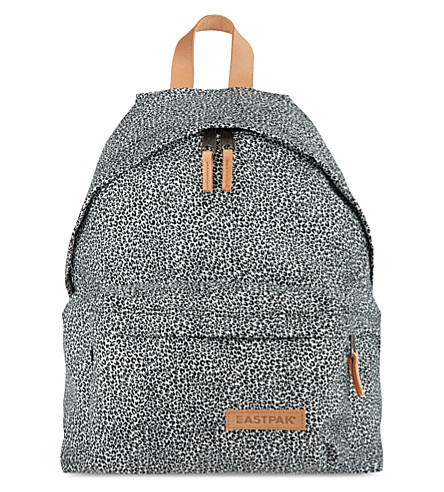 EASTPAK Aminimal cheetah print padded backpack (Cheetah
