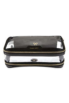 Cosmetic flight bag