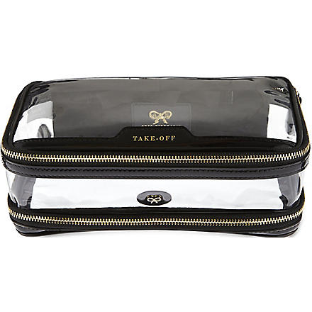 Cosmetic flight bag (Black