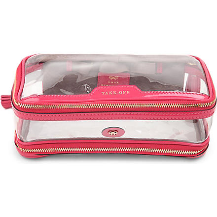 Cosmetic flight bag (Sorbet