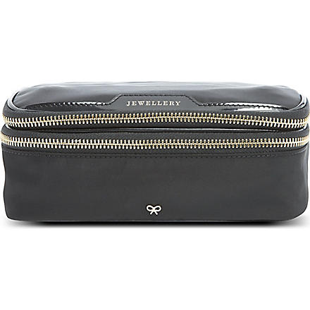 ANYA HINDMARCH Jewellery pouch (Black