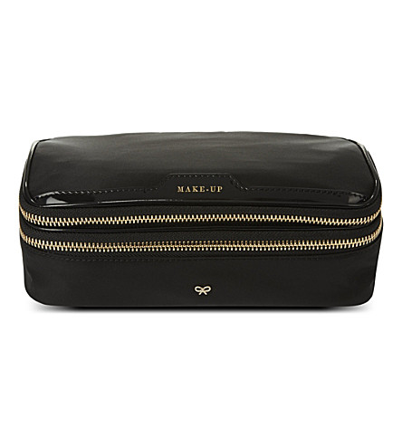 ANYA HINDMARCH Make-up bag (Black