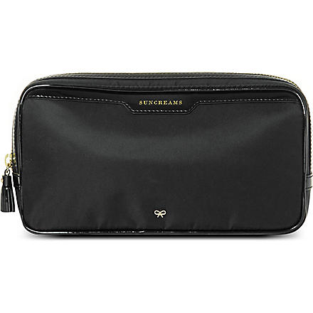 ANYA HINDMARCH Suncreams pouch (Black