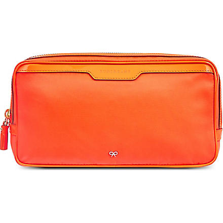 ANYA HINDMARCH Suncreams pouch (Clementine