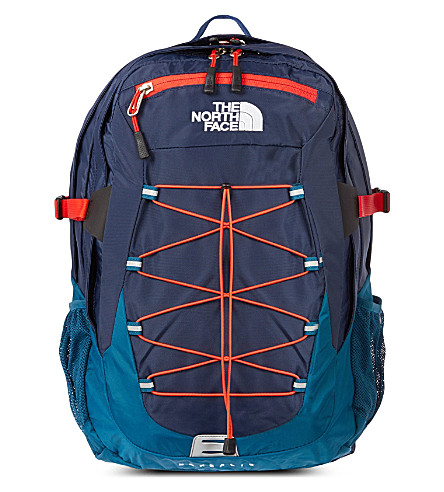 THE NORTH FACE Borealis laptop backpack (Cosmic blue/red