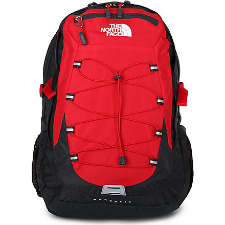 THE NORTH FACE Borealis laptop backpack (Red/asphalt grey
