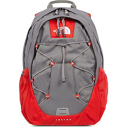 THE NORTH FACE Jester backpack (Grey/fiery red