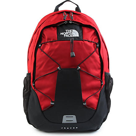 NORTHFACE Jester backpack (Red/asphalt grey