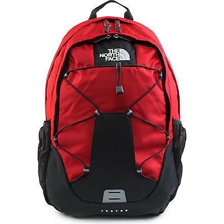 THE NORTH FACE Jester backpack (Red/asphalt grey