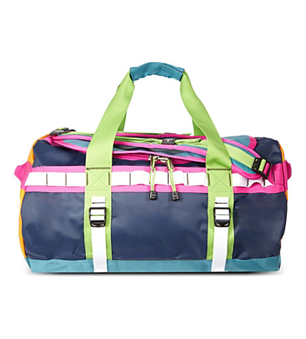 THE NORTH FACE Base camp medium duffel bag (Blue/orange