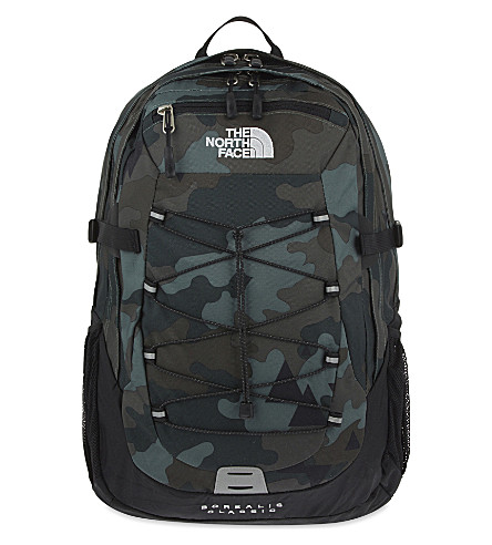 THE NORTH FACE Classic Borelais backpack (Camo+print/tnf+black