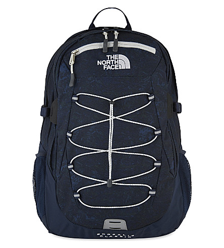 THE NORTH FACE Classic Borelais backpack (Navy/marble print