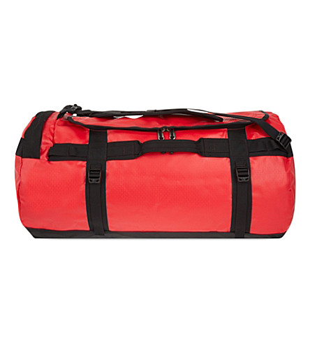 THE NORTH FACE Base Camp extra large duffle 132 litres (Tnf+red/black