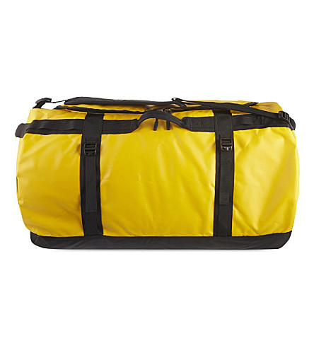 THE NORTH FACE Base Camp large duffel bag (Gold/black