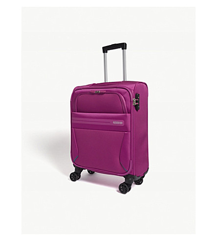 AMERICAN TOURISTER Summer Voyager four-wheel cabin suitcase 55cm (Deep+pink