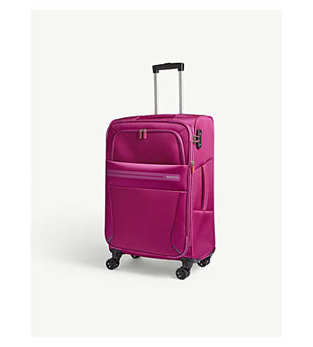 AMERICAN TOURISTER Summer Voyager four-wheel suitcase 68cm (Deep+pink