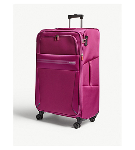 AMERICAN TOURISTER Summer Voyager large spinner suitcase 79cm (Deep+pink