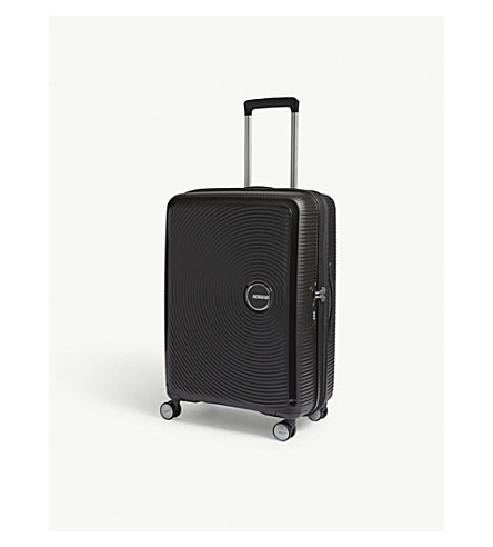 AMERICAN TOURISTER Soundbox expandable four-wheel suitcase 67cm (Bass+black