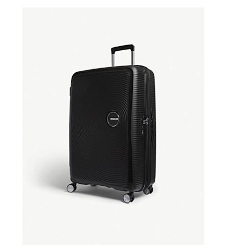 AMERICAN TOURISTER Soundbox expandable four-wheel suitcase 77cm (Bass+black