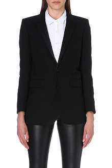 SAINT LAURENT Wool tuxedo jacket