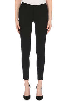 SAINT LAURENT Skinny sable trousers