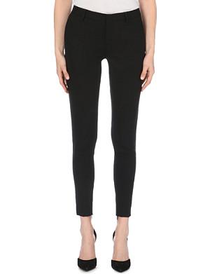 SAINT LAURENT Skinny sable trousers